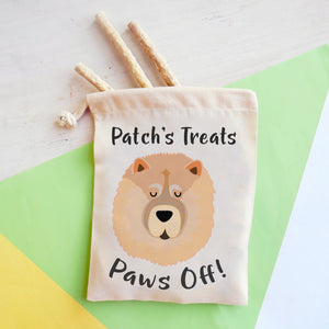 Chow Chow Personalised Treat Training Bag  - Hoobynoo - Personalised Pet Tags and Gifts