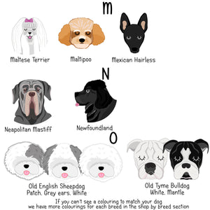 Dog Computer Mouse Pad  - Hoobynoo - Personalised Pet Tags and Gifts