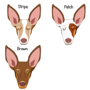 Spanish Podenco/ Ibizan Hound Personalised Dog ID Tag  - Hoobynoo - Personalised Pet Tags and Gifts