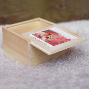 Pet Memorial Photo Keepsake Box