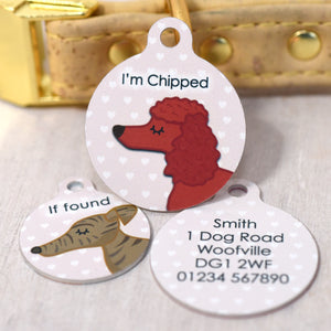 Dog Tag - Afternoon Tea