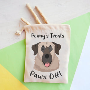 Anatolian Shepherd Personalised Treat Training Bag  - Hoobynoo - Personalised Pet Tags and Gifts