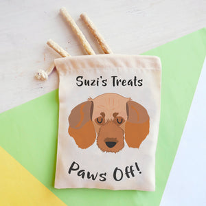 Basset Fauve de Bretagne Personalised Treat Training Bag  - Hoobynoo - Personalised Pet Tags and Gifts