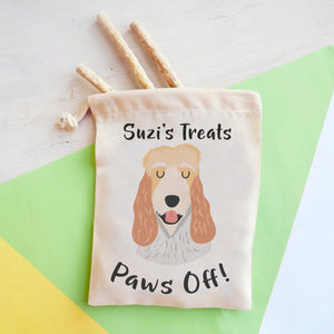 Basset Grifffon Vendeen Personalised Treat Training Bag  - Hoobynoo - Personalised Pet Tags and Gifts