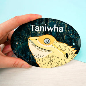 Personalised Bearded Dragon Sign  - Hoobynoo - Personalised Pet Tags and Gifts