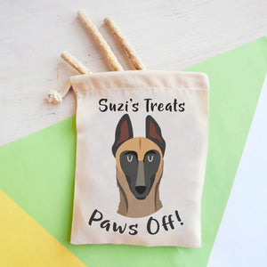 Belgian Malinois Personalised Treat Training Bag  - Hoobynoo - Personalised Pet Tags and Gifts