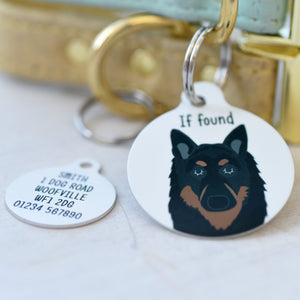 Belgian Shepherd Dog Tag