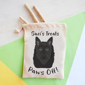 Belgian Shepherd Personalised Treat Training Bag  - Hoobynoo - Personalised Pet Tags and Gifts