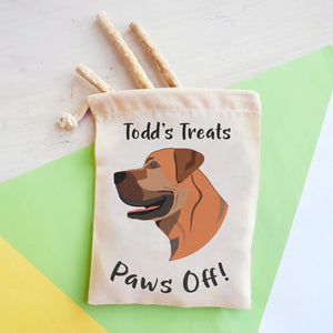 Boerboel Personalised Treat Training Bag  - Hoobynoo - Personalised Pet Tags and Gifts