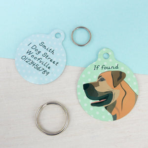 Boerboel Personalised Dog ID Tag