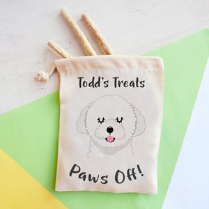 Bolognese Personalised Treat Training Bag  - Hoobynoo - Personalised Pet Tags and Gifts