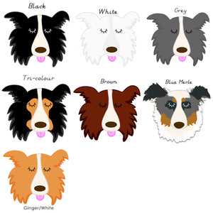 Border Collie Personalised Treat Training Bag  - Hoobynoo - Personalised Pet Tags and Gifts