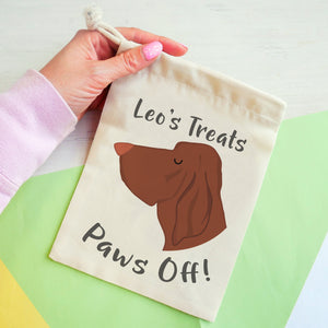Bracco Italiano Personalised Treat Training Bag  - Hoobynoo - Personalised Pet Tags and Gifts