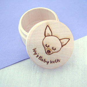Dog Tooth Keepsake Box