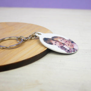 Photo Keyring Personalised  - Hoobynoo - Personalised Pet Tags and Gifts