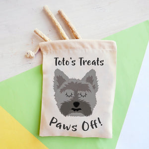 Cairn Terrier Personalised Treat Training Bag  - Hoobynoo - Personalised Pet Tags and Gifts