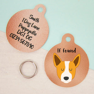Australian Cattle Dog Copper Personalised Dog ID Tag