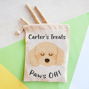 Cavachon Personalised Treat Training Bag  - Hoobynoo - Personalised Pet Tags and Gifts