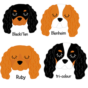 Thinking of My Dog Mug - Cavalier King Charles  - Hoobynoo - Personalised Pet Tags and Gifts