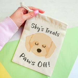 Cavapoo Personalised Treat Training Bag  - Hoobynoo - Personalised Pet Tags and Gifts