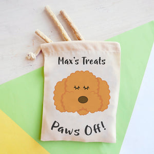 Cockapoo/ Bichon Frise/ Labradoodle Personalised Treat Training Bag  - Hoobynoo - Personalised Pet Tags and Gifts