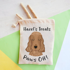 Cocker Spaniel Personalised Treat Training Bag  - Hoobynoo - Personalised Pet Tags and Gifts