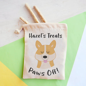 Corgi Personalised Treat Training Bag  - Hoobynoo - Personalised Pet Tags and Gifts