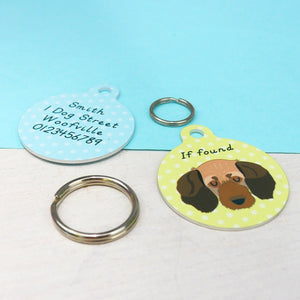 Basset Fauve De Bretagne Personalised Dog ID Tag  - Hoobynoo - Personalised Pet Tags and Gifts