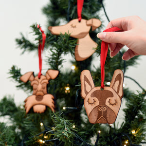 Dog Hanging Christmas Decoration