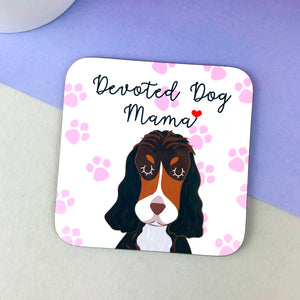 Devoted Dog Mama Coaster  - Hoobynoo - Personalised Pet Tags and Gifts