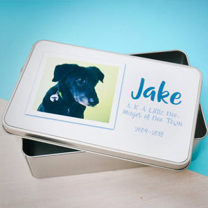 Dog and Pet Memory Tin