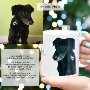 Personalised Dog and Pet Photo Mug