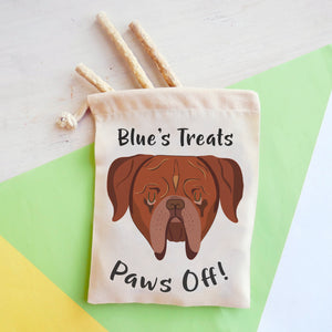 Dogue De Bordeaux Personalised Treat Training Bag  - Hoobynoo - Personalised Pet Tags and Gifts