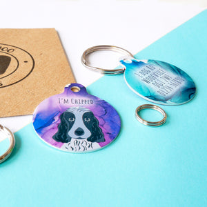 Personalised Dog ID Tag - Dreamscape  - Hoobynoo - Personalised Pet Tags and Gifts