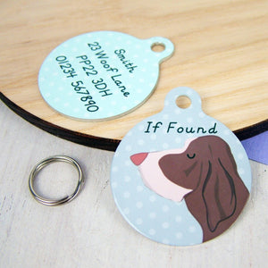 Bracco Italiano Personalised Dog ID Tag  - Hoobynoo - Personalised Pet Tags and Gifts
