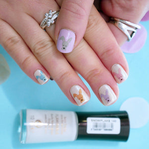 Easter Bunny Nail Transfers