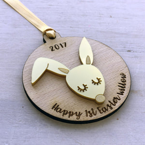 Personalised Babys's 1st Easter Decoration  - Hoobynoo - Personalised Pet Tags and Gifts