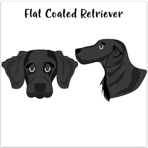 Flat Coated Retriever Personalised Treat Training Bag  - Hoobynoo - Personalised Pet Tags and Gifts