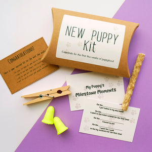 New Puppy Kit  - Hoobynoo - Personalised Pet Tags and Gifts