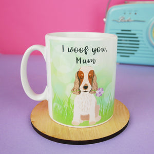 Mothers Day Mug from the Dog  - Hoobynoo - Personalised Pet Tags and Gifts