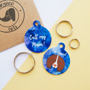 Personalised Dog ID Tag - Inkspell  - Hoobynoo - Personalised Pet Tags and Gifts