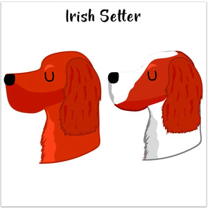 Irish Setter Personalised Christmas Present Sack