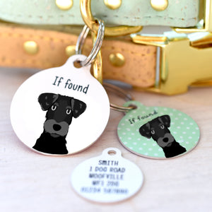 Jackapoo Personalised Dog ID Tag