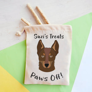 Australian Kelpie Personalised Treat Training Bag  - Hoobynoo - Personalised Pet Tags and Gifts
