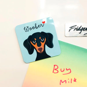 Personalised Dog Mini Fridge Magnet
