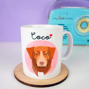 Nova Scotia Duck Tolling Retriever Love Mug