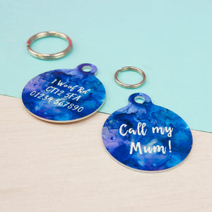 Personalised Pet ID Tag - Inkspell  - Hoobynoo - Personalised Pet Tags and Gifts