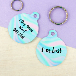 Personalised Pet ID Tag - Mermaid  - Hoobynoo - Personalised Pet Tags and Gifts