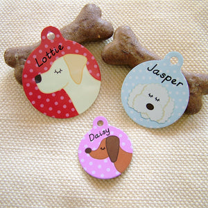 Dog ID Tag Personalised  - Hoobynoo - Personalised Pet Tags and Gifts