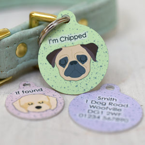 Dog Tag Speckled